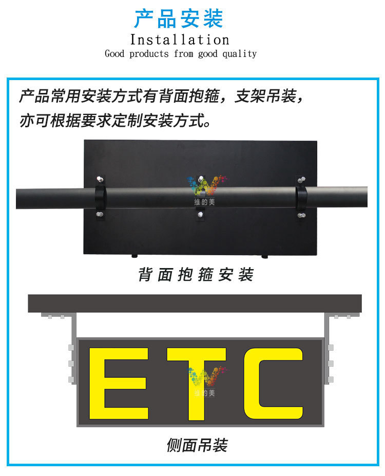 收费站像素管ETC